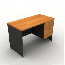 โต๊ะสำนักงานไม้ 2ลิ้นชัก ขนาด160*80*75 cm MOTECH D1602