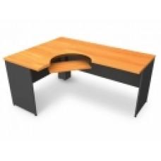 โต๊ะสำนักงานไม้ ขนาด 165*120*75 cm MOTECH DC1650