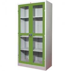 ตู้บานเปิดกระจกใส 4 ช่อง ยี่ห้อ Luckyworld รุ่น KWG-183