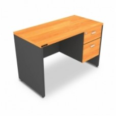 โต๊ะสำนักงานไม้ 2ลิ้นชัก ขนาด120 *60*75 cm MOTECH D1202
