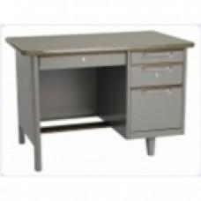 โต๊ะสำนักงานหล็ก  TAIYO ขนาด 3.5 ฟุต