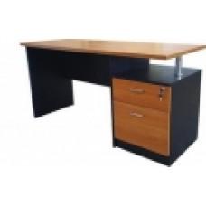 โต๊ะทำงาน 2 ลิ้นชัก ขนาด 150cm  PSP MD-006
