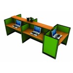 ชุดโต๊ะทำงานกลุ่ม M0TECH  WA014R