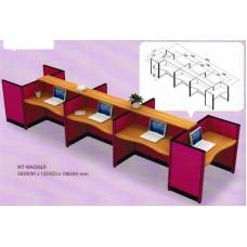 ชุดโต๊ะทำงานกลุ่ม M0TECH  -WA026LR