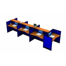 ชุดโต๊ะทำงานกลุ่ม MOTECH-WA026R