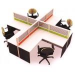 ชุดโต๊ะทำงาน MOTECH-WS014