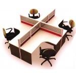 ชุดโต๊ะทำงาน MOTECH-WS014C