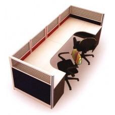 ชุดโต๊ะทำงาน MOTECH-WS022C