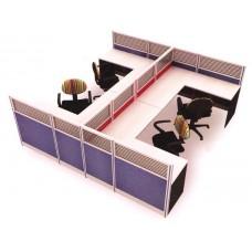 ชุดโต๊ะทำงานกลุ่ม MOTECH-WS024