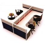 ชุดโต๊ะทำงานกลุ่ม MTOTECH-WS024C