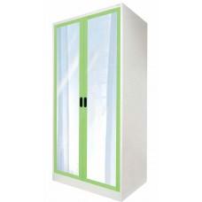 ตู้เสื้อผ้าบานเปิดกระจก kiosk OGW-18
