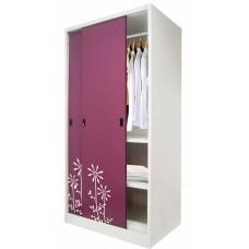 ตู้เสื้อผ้าบานเลื่อนทึบ kiosk SDW-18