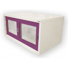 ตู้เสริมตู้เสื้อผ้าแบบบานเลื่อนกระจก kiosk SGC-04